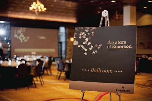 Emerson Event Signage