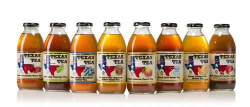 Texas Tea Label Design And Photography