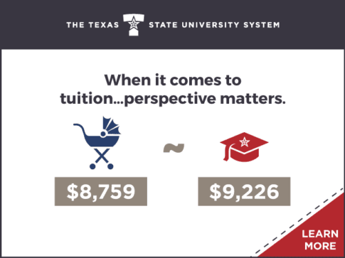 TSUS Digital Advertising: Tuition Matters